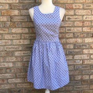 Altar'd State blue stripe dress, Sz Small, VGUC